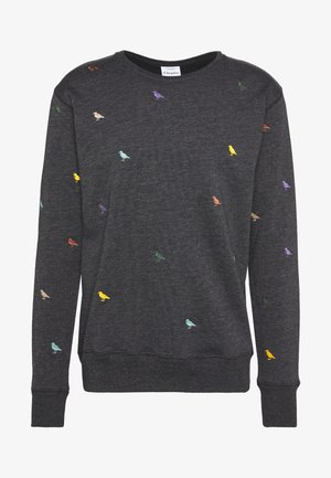 GULL ALLOVER - Sweatshirt - black