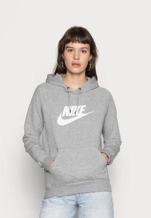 HOODIE - Sweat à capuche - dark grey heather/white