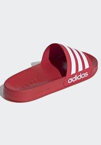 adidas Performance - SHOWER ADILETTE - Chanclas de baño - red - 3