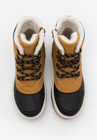 Friboo - Šněrovací kotníkové boty - camel - 3