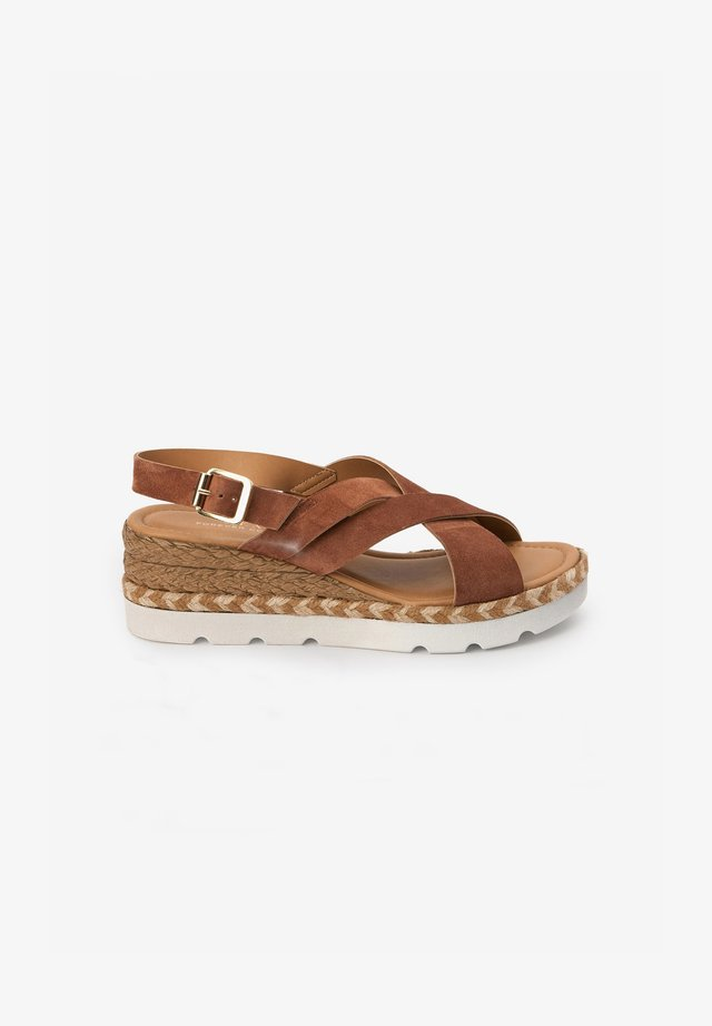 CROSS-OVER  - Espadrilles - tan