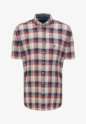 Shirt - lava check