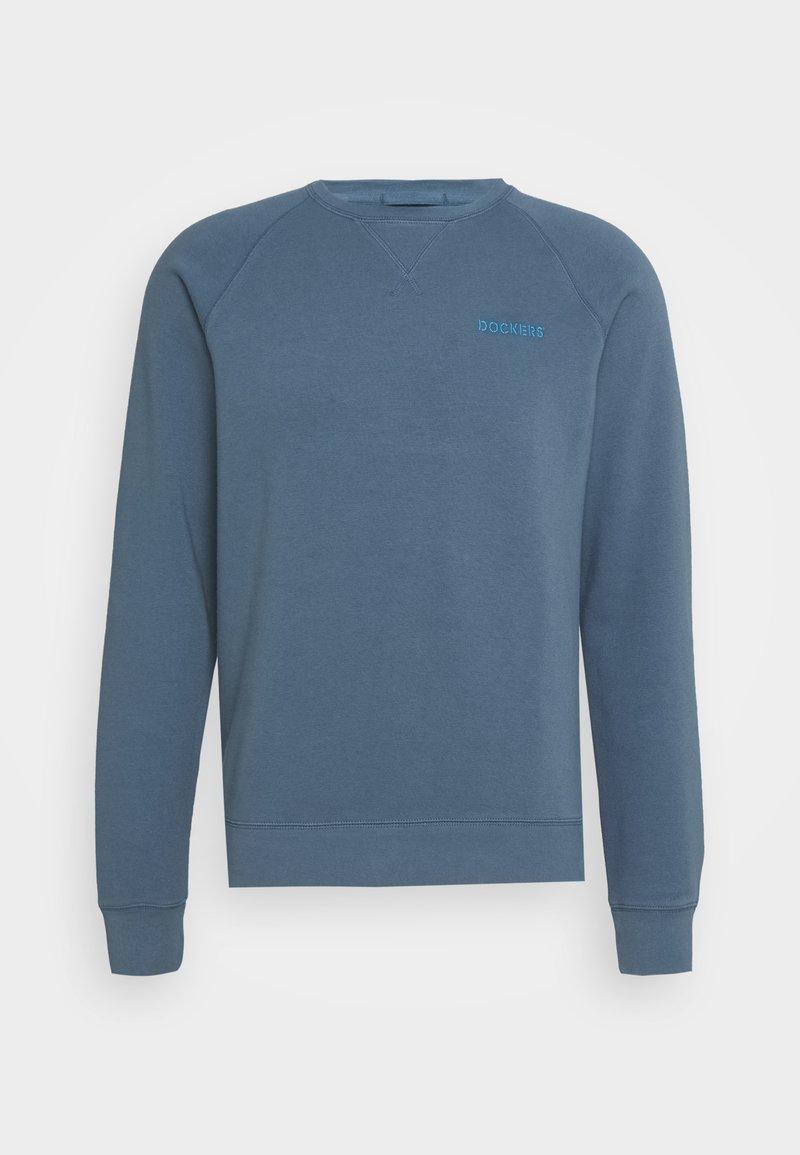 DOCKERS - LOGO CREWNECK - Sweatshirt - seawall blue