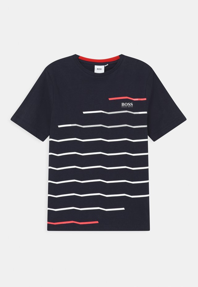 SHORT SLEEVES  - T-shirts print - navy
