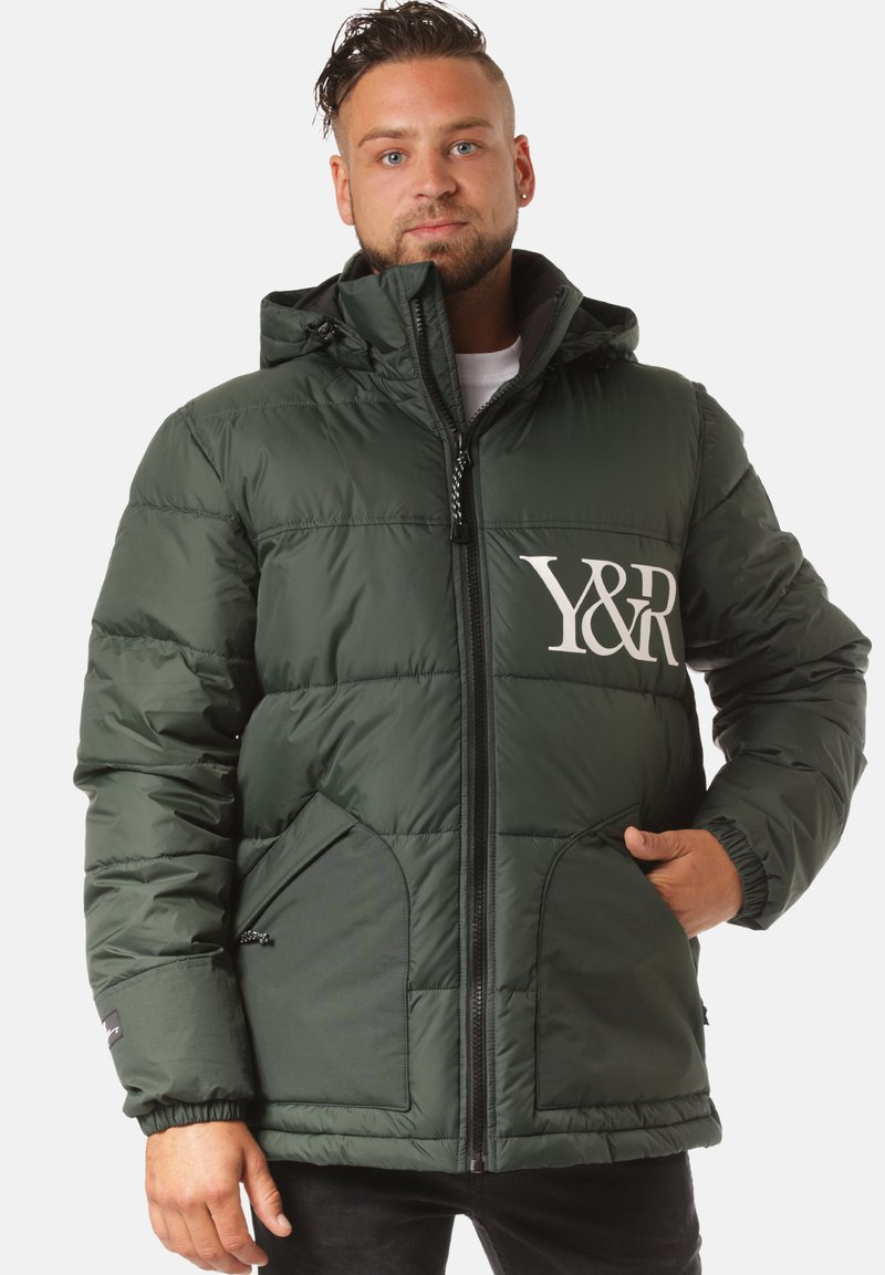 Young and Reckless - Winter jacket - green