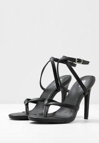 4th & Reckless - PENNY - High heeled sandals - black - 4
