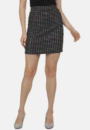 Mini skirt - holographic