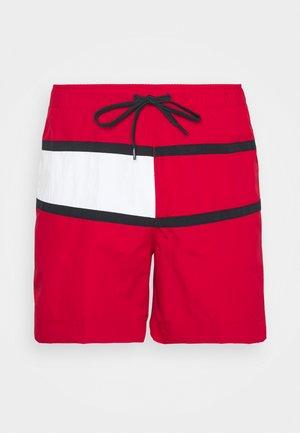CORE FLAG MEDIUM DRAWSTRING - Badeshorts - red