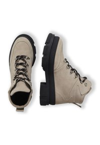 ICHI - Lace-up ankle boots - tapioca - 3