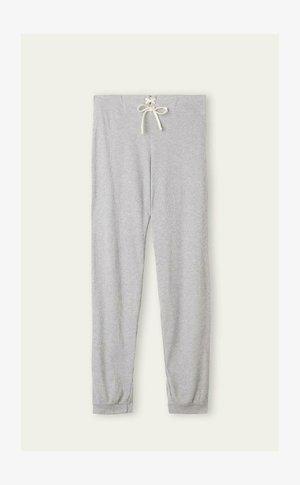 Pyjama bottoms - mottled light grey, anthracite, light grey