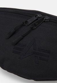 Alpha Industries - WAIST BAG - Bum bag - black - 3