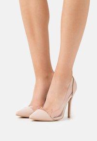 BEBO - High heels - clear/nude - 0