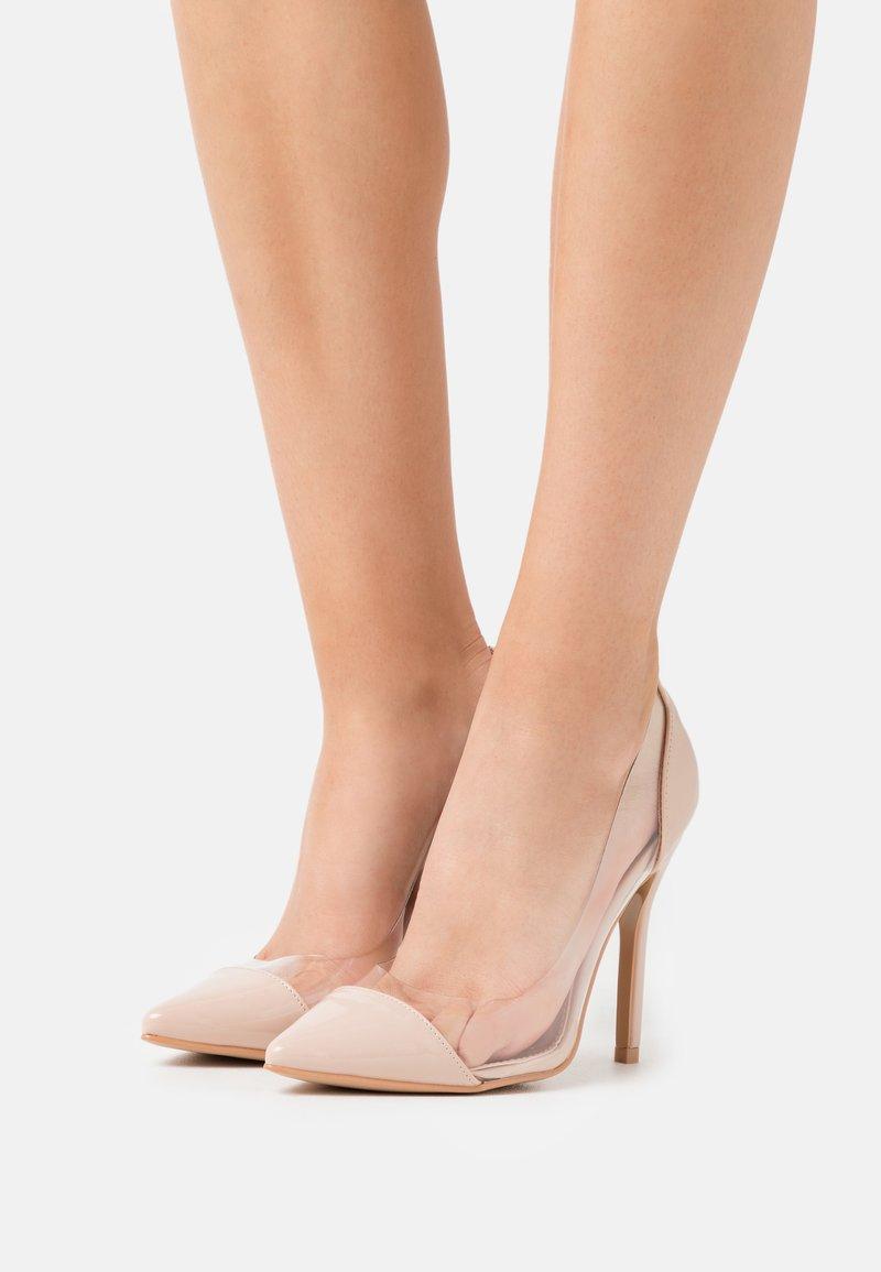 BEBO - High heels - clear/nude