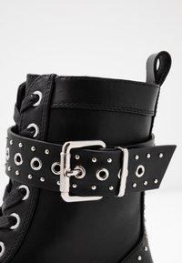 Even&Odd - Cowboystøvletter - black - 2