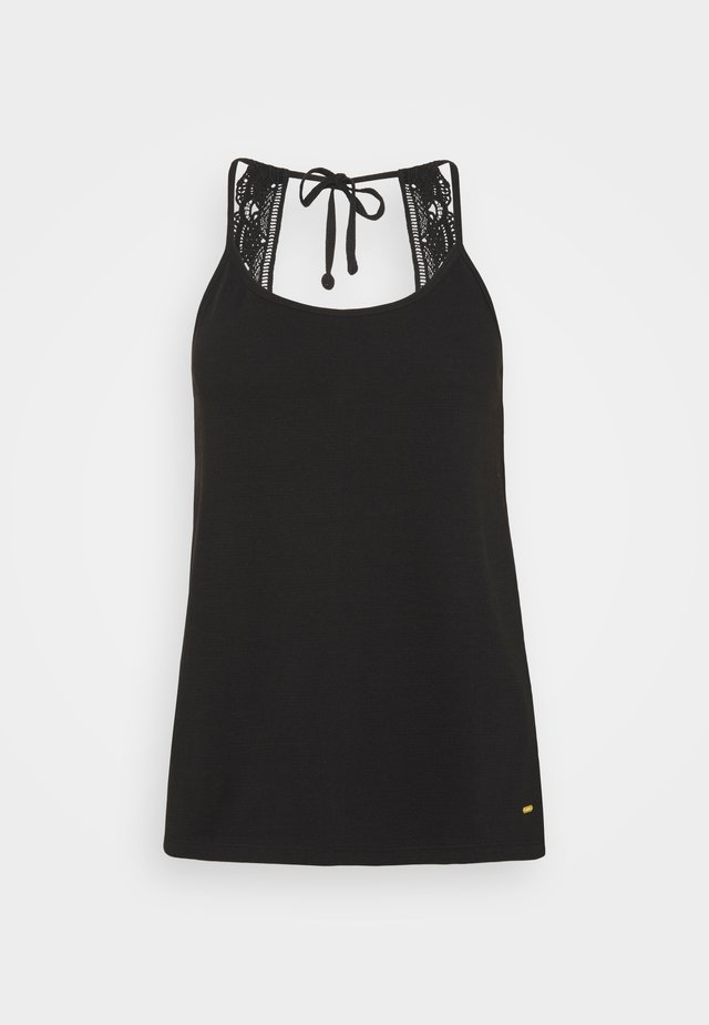 AVA BEACH TANK TOP - Strand accessories - black out