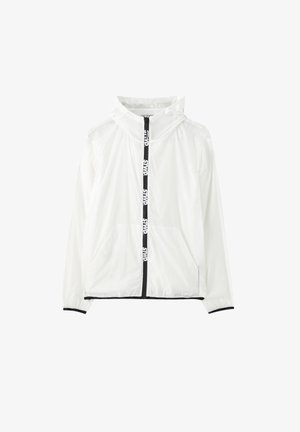 GLOW IN THE DARK - Outdoor jacket - white