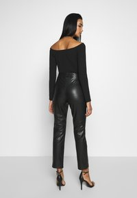 Nly by Nelly - STUNNING PANTS - Bukse - black - 2