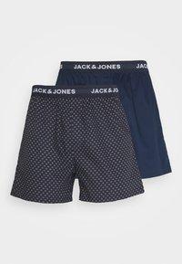 Jack & Jones - JACDOTS TRUNKS 2 PACK - Trenýrky - dress blue - 4