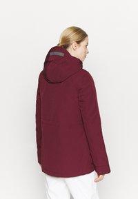 O'Neill - WANDERLUST JACKET - Snowboard jacket - windsor wine - 2