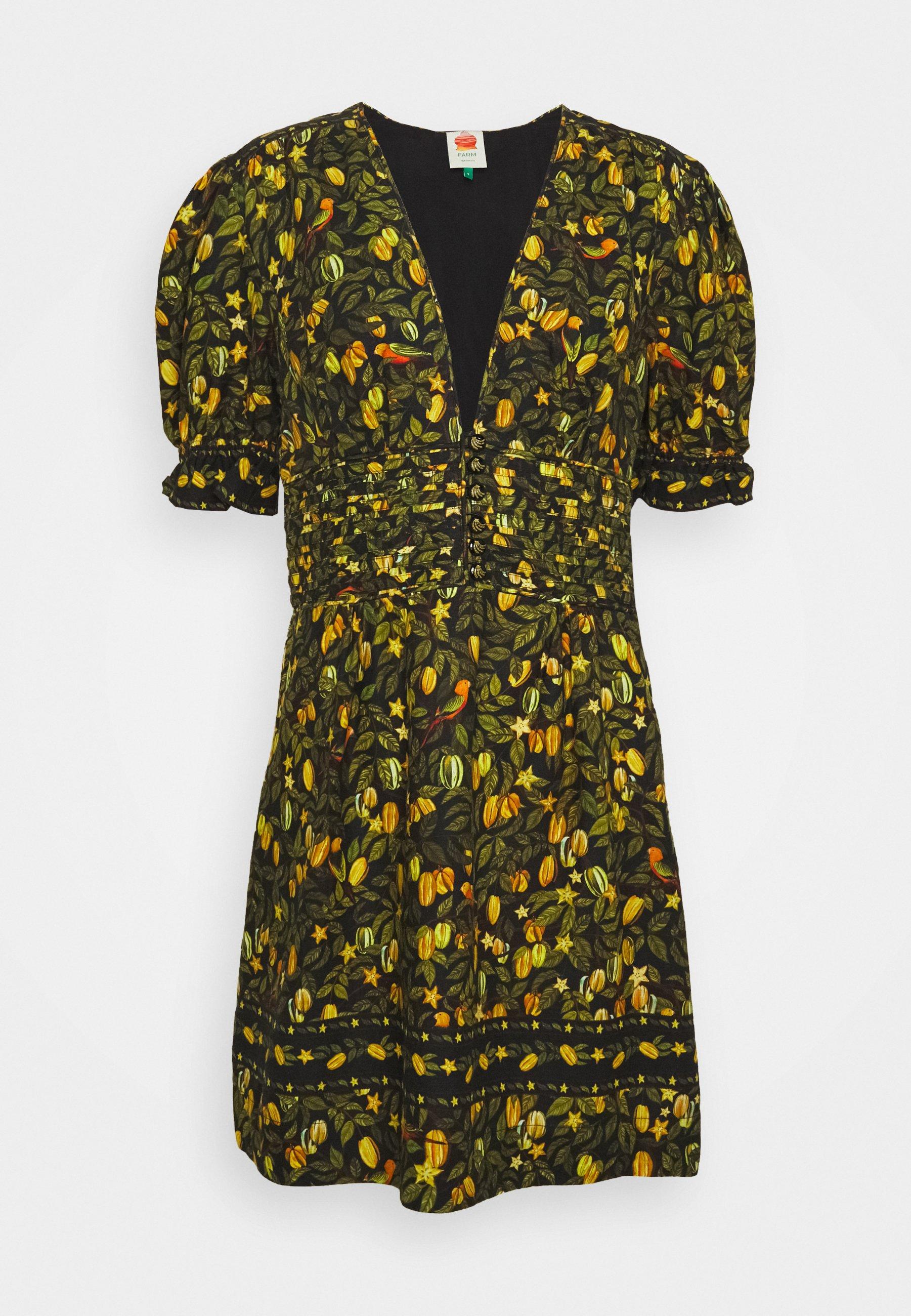 Women STAR FRUIT MINI DRESS - Day dress