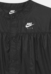 Nike Sportswear - AIR - Blouse - black/light smoke grey/white - 2