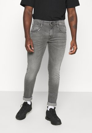 ANBASS XLITE - Slim fit jeans - medium grey