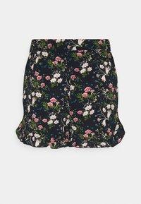 ONLY - ONLNOVA LUX FRILL  - Shorts - black/venus - 5
