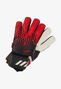 adidas Performance - UNISEX - Goalkeeping gloves - black/actred - 0