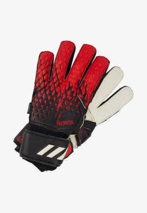 UNISEX - Goalkeeping gloves - black/actred