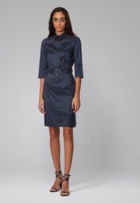 BOSS - DALIRI1 - Shirt dress - open blue - 1
