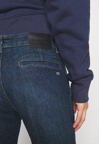 Tommy Jeans - SLIM - Jeans slim fit - queens dark blue - 4