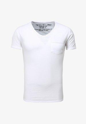 MT WATER - Basic T-shirt - white