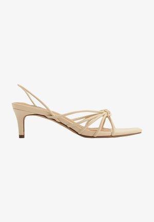 Sandals - creme