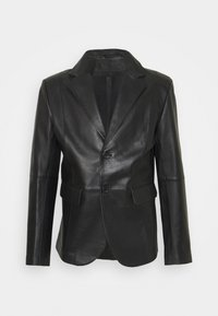STUDIO ID - VINCENT LEATHER BLAZER - Giacca di pelle - black - 0