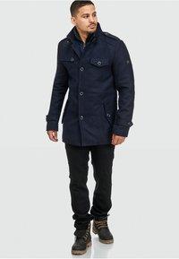 INDICODE JEANS - BRANDAN - Short coat - dark blue - 1