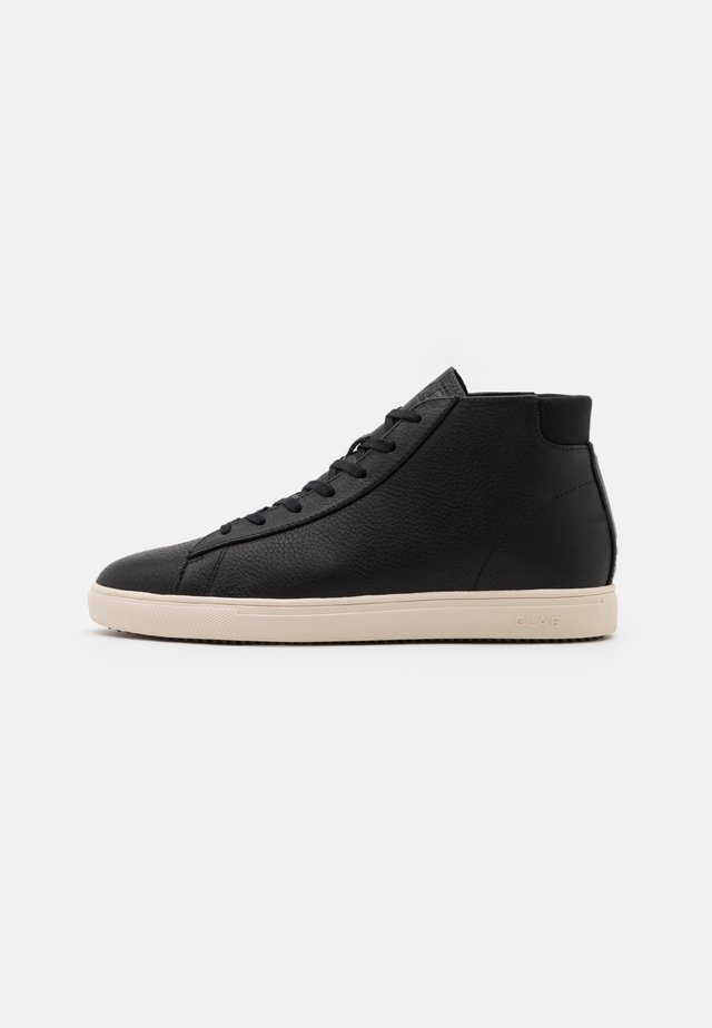 BRADLEY MID UNISEX - High-top trainers - black