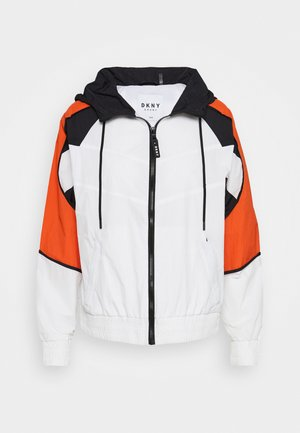 COLORBLOCKED TRACK JACKET - Training jacket - white