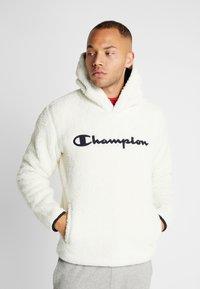 Champion - HOODED  - Luvtröja - off white - 0