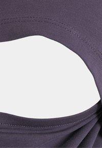 Anna Field MAMA - NURSING Basic T-shirt - T-shirts - grey - 2