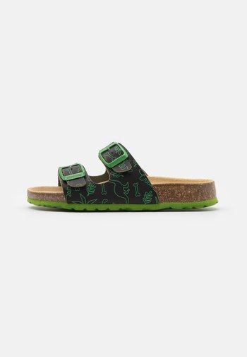 FUSSBETTPANTOFFEL - Pantoffels - schwarz