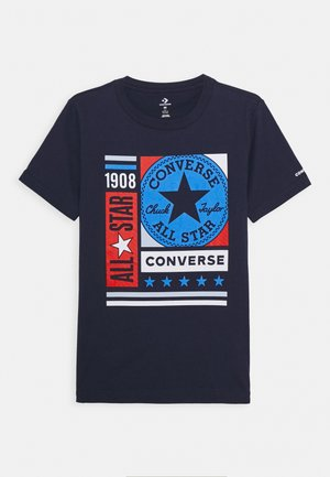 MIXED BOXES TEE - T-shirt print - obsidian