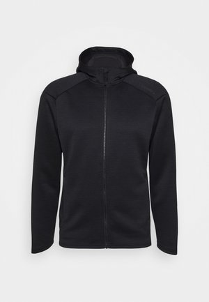 CHARGE ZIP HOOD JACKET - Veste de running - black