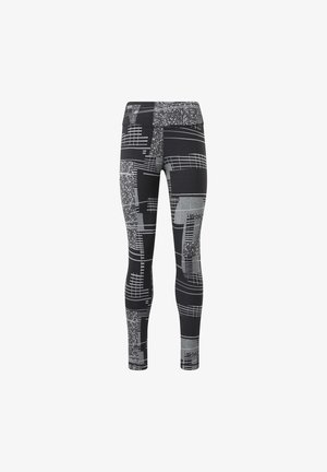 REEBOK LUX 2 LEGGINGS - Leggings - black