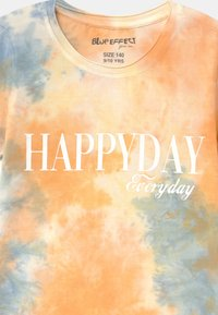 Blue Effect - GIRLS HAPPYDAY - Print T-shirt - orange - 2