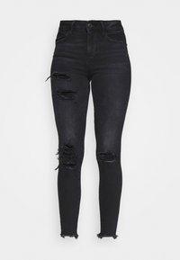 American Eagle - Slim fit jeans - black - 4