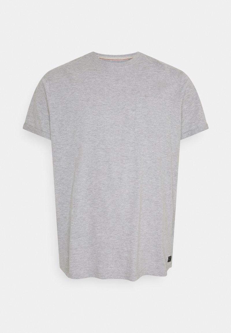 Blend - BHNASIR ORGANIC TEE - T-shirt basique - stone mix