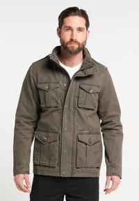 DreiMaster - Summer jacket - military olive - 0