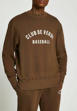 Sweater - brown
