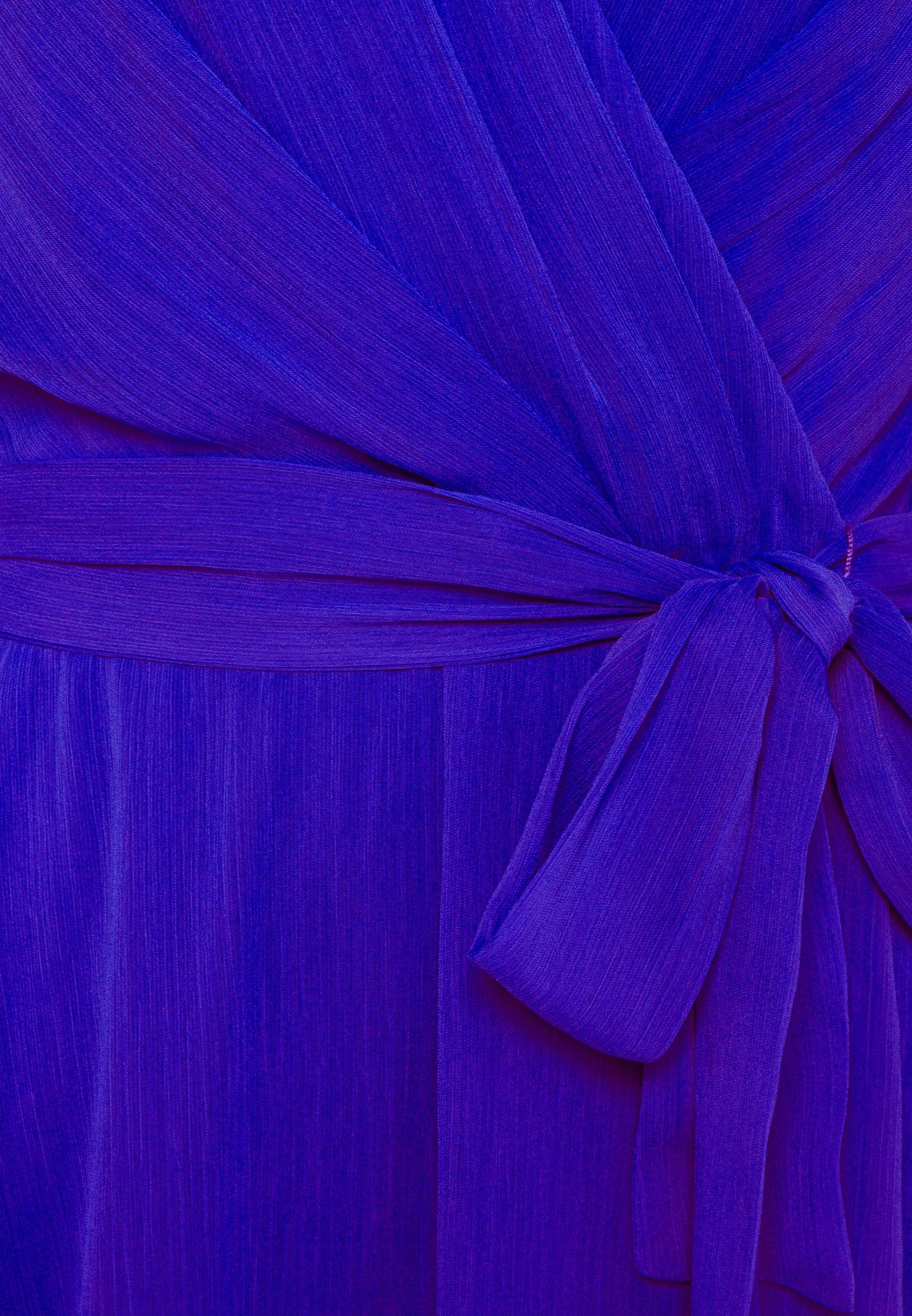 DKNY BALLOON SLEEVE  Cocktailkleid/festliches Kleid iris/türkis