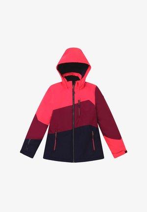LYNGE GRLS - Outdoorová bunda - neon-coral